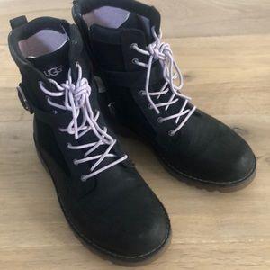 Girls ugg combat boots